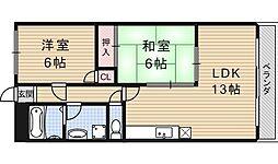 アメニティー91[305号室号室]の間取り