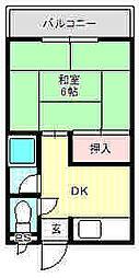 プレアール古川橋III[2階]の間取り