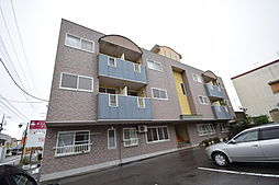 栃木県宇都宮市新富町の賃貸マンションの外観