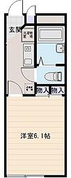 アベンタ神武[2階]の間取り