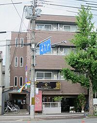 京都府京都市北区平野宮西町の賃貸マンションの外観