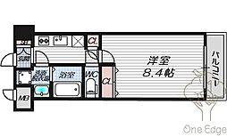 グランカーサ梅田北[4階]の間取り