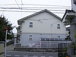 東京都羽村市羽中1丁目の賃貸アパートの外観