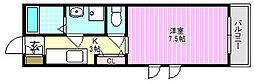 N2.KAMISHIMA[1階]の間取り