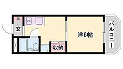 英賀保駅 2.5万円