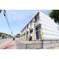 奈良県生駒郡三郷町城山台の賃貸アパートの外観