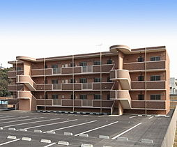 鹿児島県姶良市船津の賃貸マンションの外観