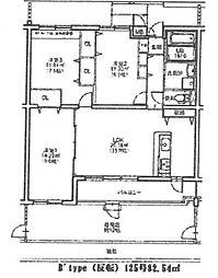 エルミナール南野II[125号室]の間取り