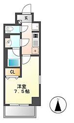 ドゥナーレ辻町[7階]の間取り