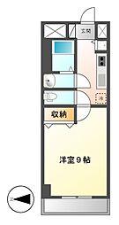 プレストンズ新栄[3階]の間取り