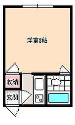 砂川総合ハイツ[207号室]の間取り