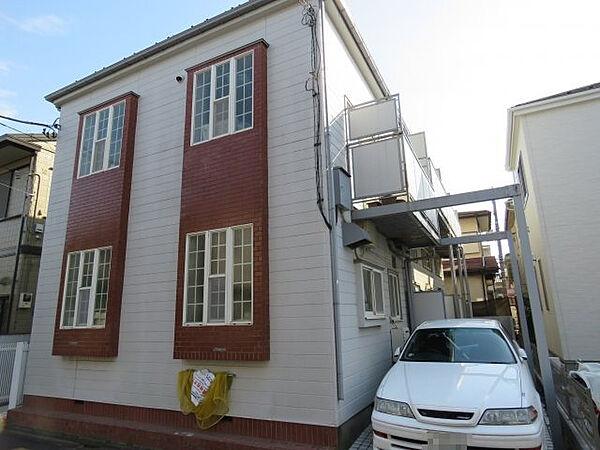 サンハイム霞ヶ関[2階]の外観