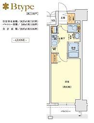 ララプレイスOSAKA WEST PRIME[14階]の間取り