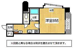 福岡県北九州市小倉南区葛原1丁目の賃貸マンションの間取り