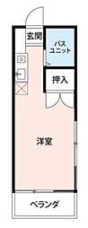 二俣川ビューハイツ第2[2階]の間取り
