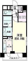 神奈川県横浜市中区赤門町1丁目の賃貸マンションの間取り