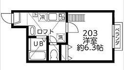 DSコート・21[203号室]の間取り