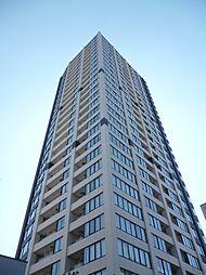 東京都港区高輪3丁目の賃貸マンションの外観