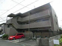愛知県稲沢市北市場町の賃貸マンションの外観