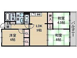 吉田マンション東雲パート2[3階]の間取り