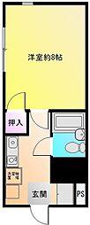 ディバージョン久宝寺[2階]の間取り