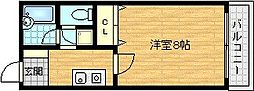 DS千林駅前[2階]の間取り