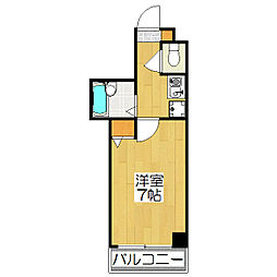 IZUKIマンション[309号室]の間取り