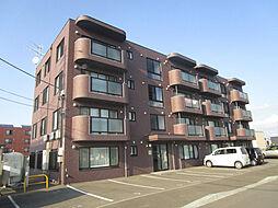 北海道札幌市北区南あいの里5丁目の賃貸マンションの外観