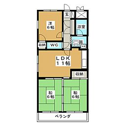 D.flat[5階]の間取り