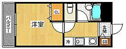 ステラハウス23[308号室]の間取り