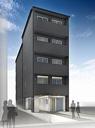 仮称)西院平町新築マンション[402号室]の外観