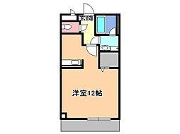 ポワールガーデンII[3階]の間取り