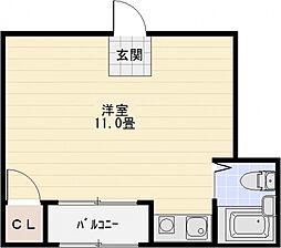 ハイツエイト[2階]の間取り