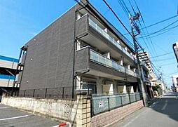 埼玉県川越市菅原町の賃貸アパートの外観