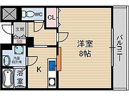 モンターニュ園[3階]の間取り