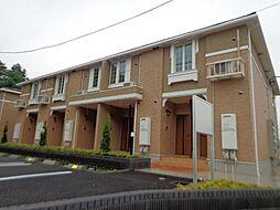 栃木県宇都宮市中戸祭町の賃貸アパートの外観