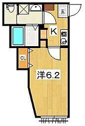 my residence鴨宮駅前[207号室号室]の間取り