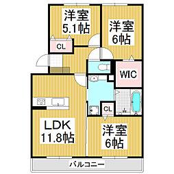 Riziere[1階]の間取り