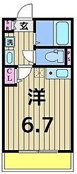 仮称)加平3丁目新築アパート[104号室]の間取り