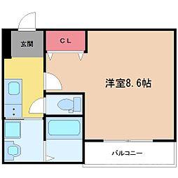 フジパレス新高II番館[3階]の間取り