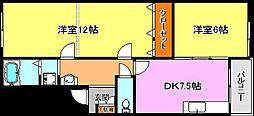 ソシア小泉IV[2階]の間取り