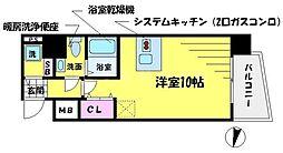 T's SQUARE 大阪城[9階]の間取り