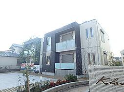 クラヴィーア上野芝[1階]の外観