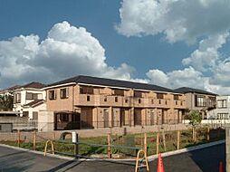 千葉県船橋市二和西の賃貸アパートの外観