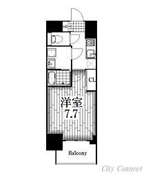 プレサンス桜通ザ・タイムズ[15階]の間取り