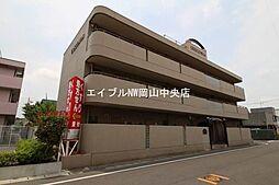 岡山県岡山市中区門田屋敷4丁目の賃貸マンションの外観