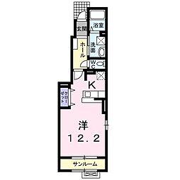 カ−サ・プリムラ[0101号室]の間取り