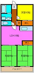 グランドメゾン浅田[2階]の間取り