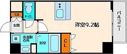 プレサンスOSAKA江坂[6階]の間取り