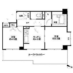 ライオンズマンション町田第3[4階]の間取り